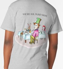 Alice Liddell, Hatter, March Hare and Dormouse Men's Premium T-Shirt