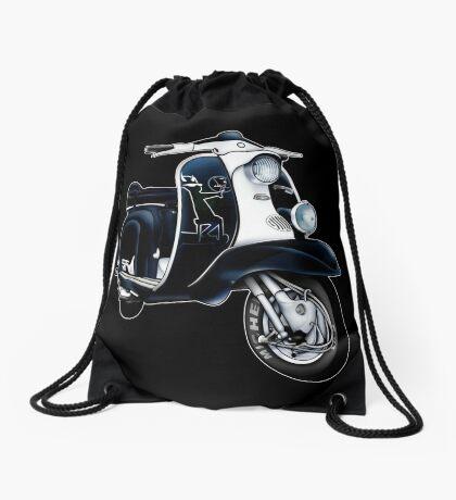Scooter T-shirts Art: Lambretta Black Devil TV Drawstring Bag