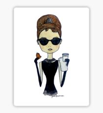 Audrey Hepburn, Breakfast at Tiffany's Sticker