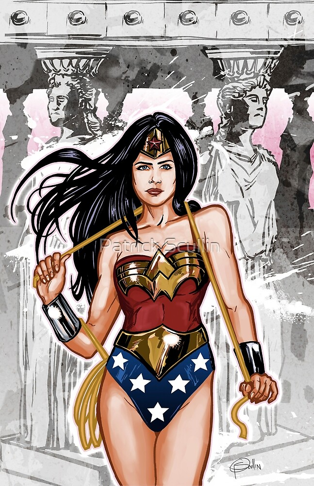 The Most Powerful Female Super Hero by Patrick Scullin