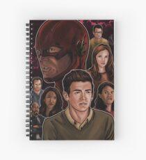 Very Fast Man Spiral Notebook