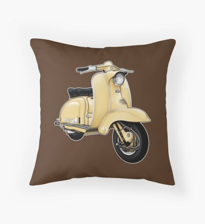 Scooter T-shirts Art: TV 175 Series 1 Scooter Design Throw Pillow