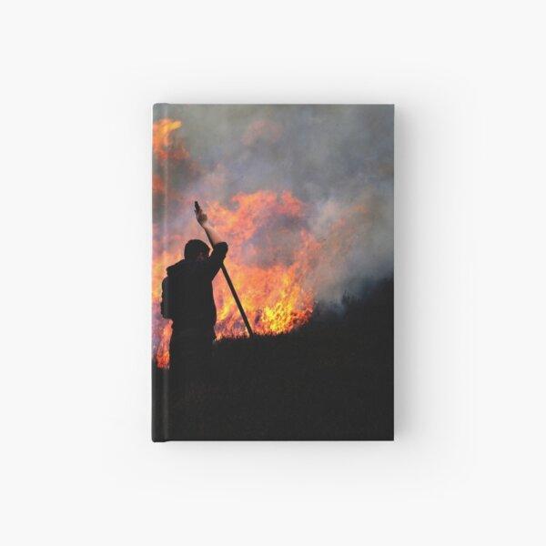 Heather Burning - Yorkshire Dales Hardcover Journal