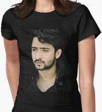 Shaheer sheikh t shirts redbubble shaheer sheikh face womens fitted t shirt reheart Gallery