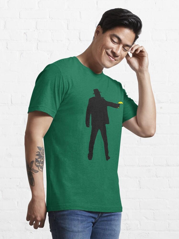 Alternate view of Real Cowboys Shoot Bananas! Essential T-Shirt