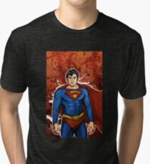 The Super Hero  Tri-blend T-Shirt