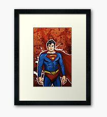 The Super Hero  Framed Print