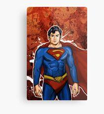 The Super Hero  Metal Print