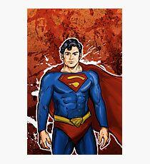 The Super Hero  Photographic Print