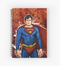 The Super Hero  Spiral Notebook