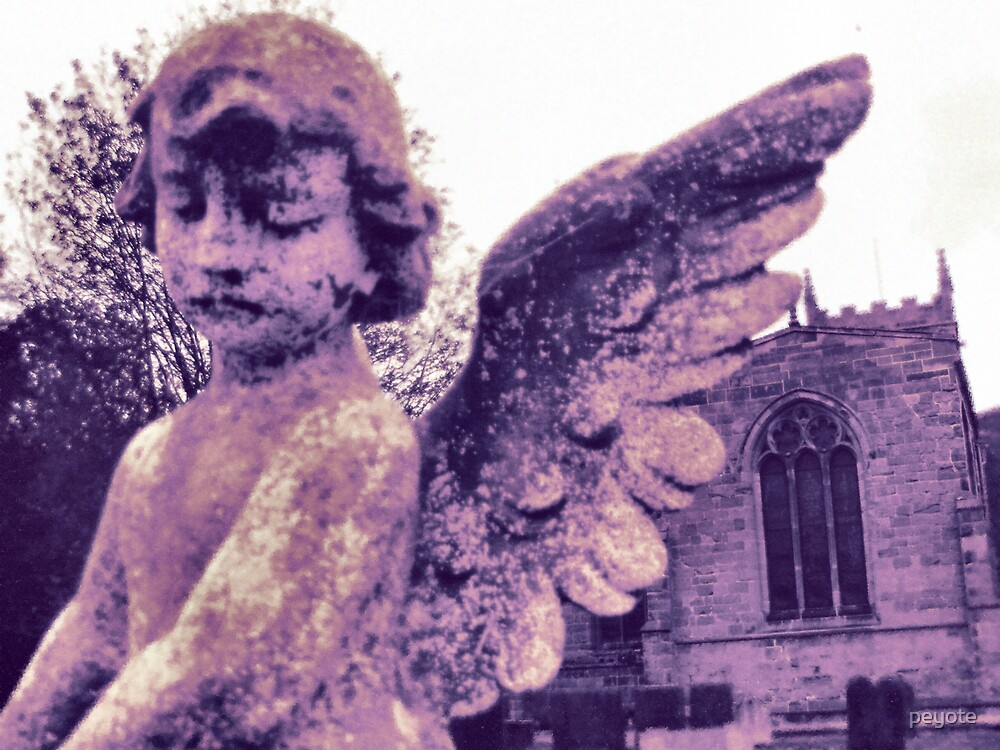 Sepia Angel by peyote