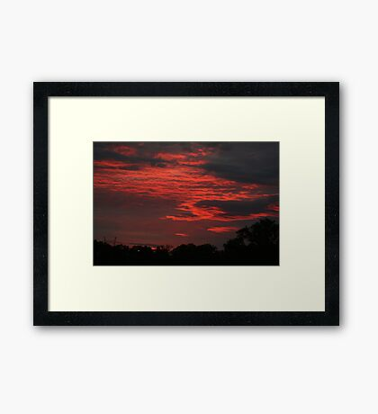 To loose yourself Framed Print