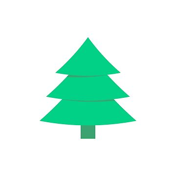 Christmas Tree Pine Pattern by Krukowski