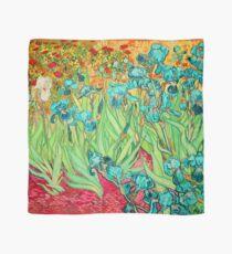 Van Gogh Irises/Teal Scarf