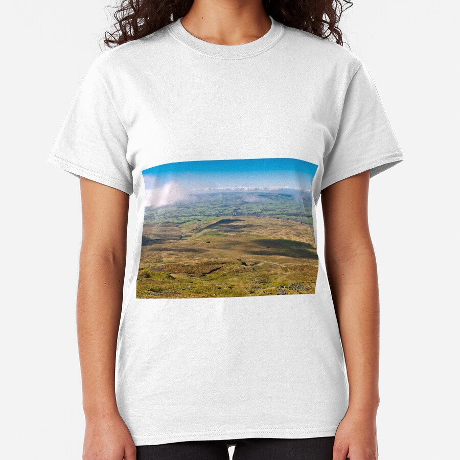 From the summit of Ingleborough Classic T-Shirt