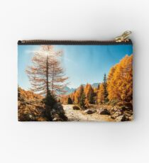 Autumn trekking in the alpine Pusteria valley Studio Pouch