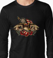 USA Made Patriotic Eagle Long Sleeve T-Shirt