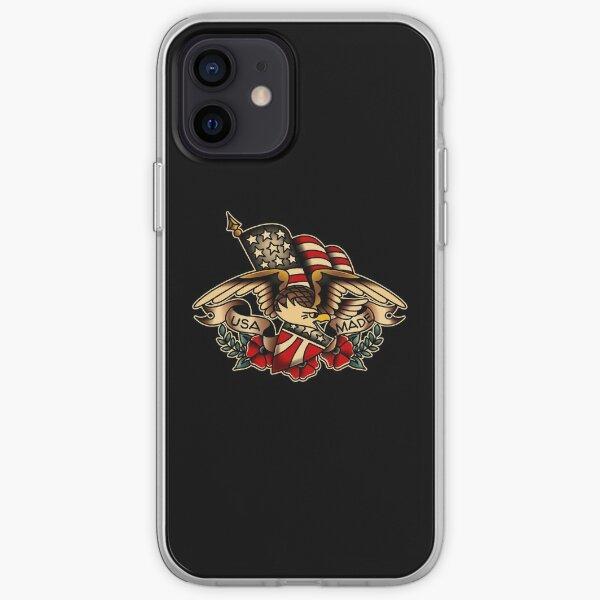 USA Made Patriotic Eagle iPhone Soft Case