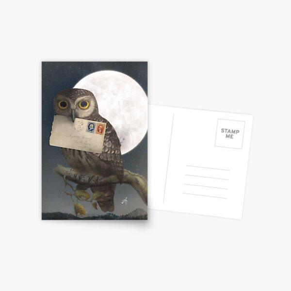 Owl Post Postcard