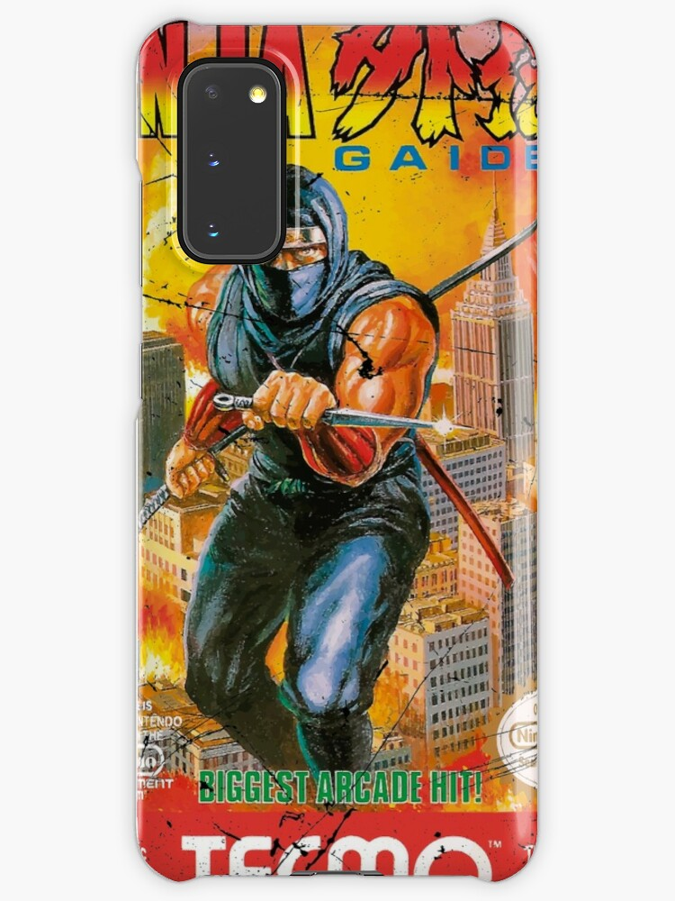 Ninja Gaiden Nes Cover Case Skin For Samsung Galaxy By Pixltees