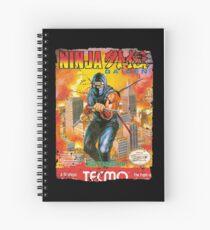 NINJA GAIDEN NES COVER Spiral Notebook