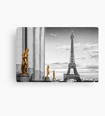 Eiffel Tower PARIS Trocadero Canvas Print