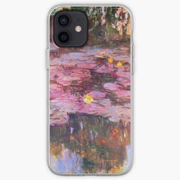 Vintage Claude Monet Waterlilies 1917 Fine Art iPhone Soft Case