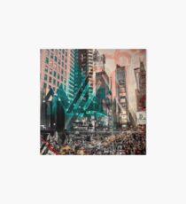 New York City Geometric Mix No. 4 Art Board