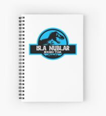 Isla Nublar Research Team Spiral Notebook