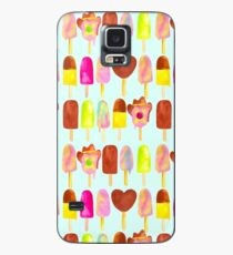 Aussie Ice Creams - Blue Case/Skin for Samsung Galaxy