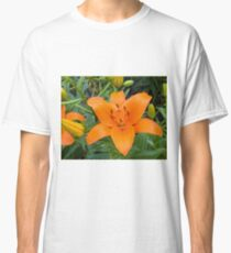 Orange Lily 6 Classic T-Shirt