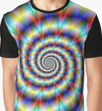 Psychedelic Twist Graphic T-Shirt