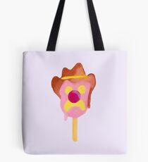 Bubble O Bill (Pink Nose) - Purple Tote Bag