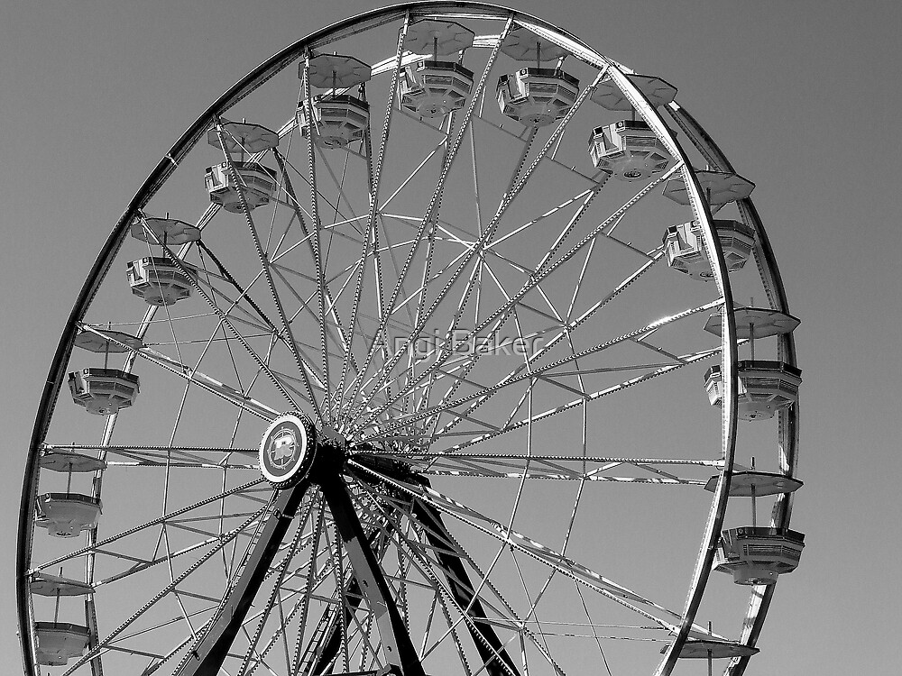 Wheel In The Sky by Angi Baker