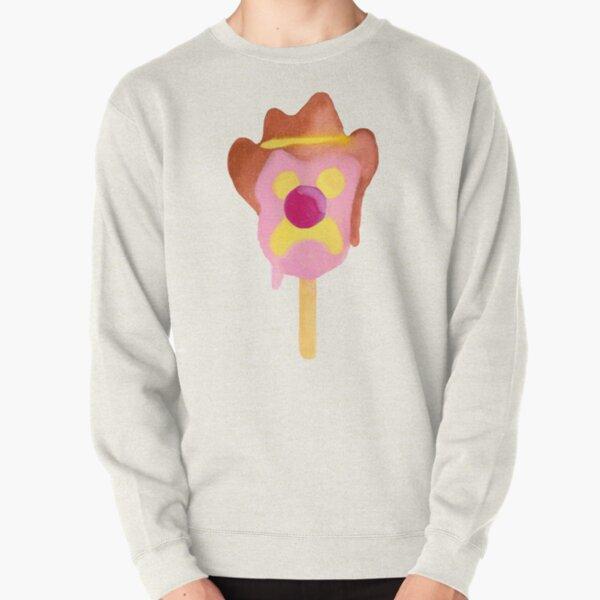 Bubble O Bill (Pink Nose) - Purple Pullover Sweatshirt