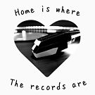 «Home is where the records are!» de Nicksmaldone