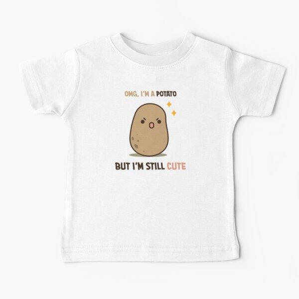 Cute potato is cute Baby T-Shirt