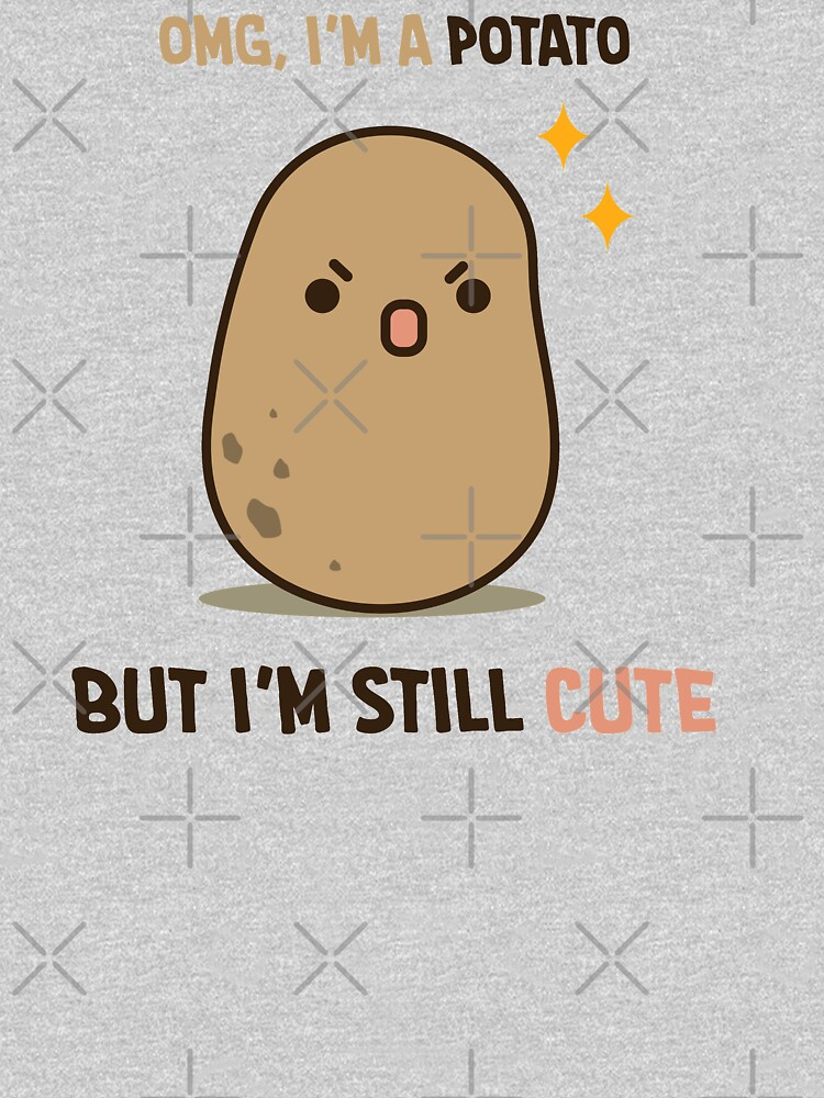 Cute potato is cute by clgtart