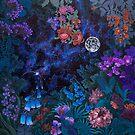 «Night Space Magic Garden» de Ruta Dumalakaite