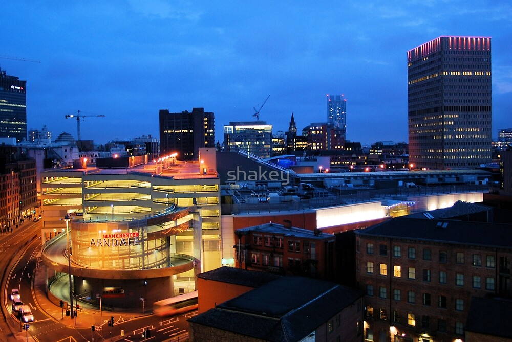 Manchester Skyline 2 by shakey