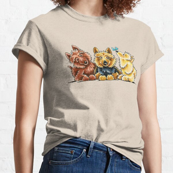 3 Australian Terriers Classic T-Shirt