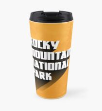 Vintage Retro Rocky Mountain National Park Travel Decal Travel Mug
