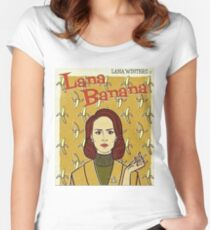 lana banana Women's Fitted Scoop T-Shirt