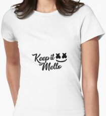 Keep it Mello - Marshmello Women's Fitted T-Shirt