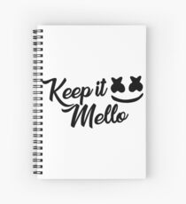 Keep it Mello - Marshmello Spiral Notebook