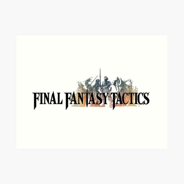 -FINAL FANTASY- Final Fantasy Tactics Art Print