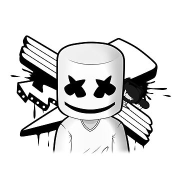 Marshmello Black/White by marshmellofans