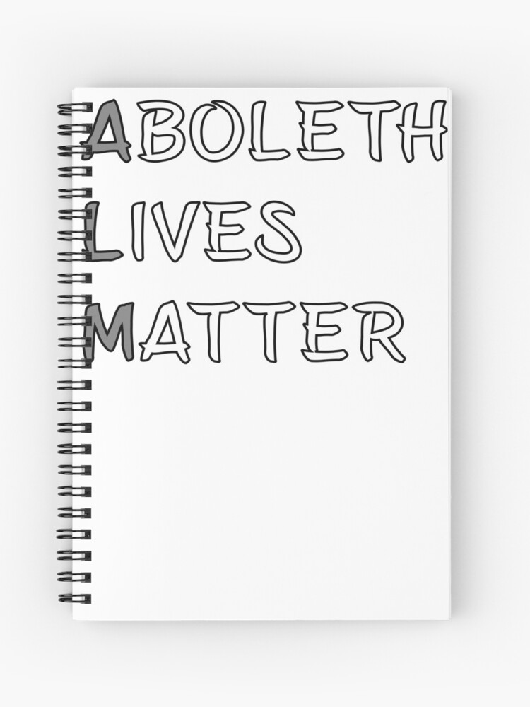 Aboleth Lives Matter Meme DND 5e Pathfinder RPG Role Playing Tabletop RNG |  Spiral Notebook