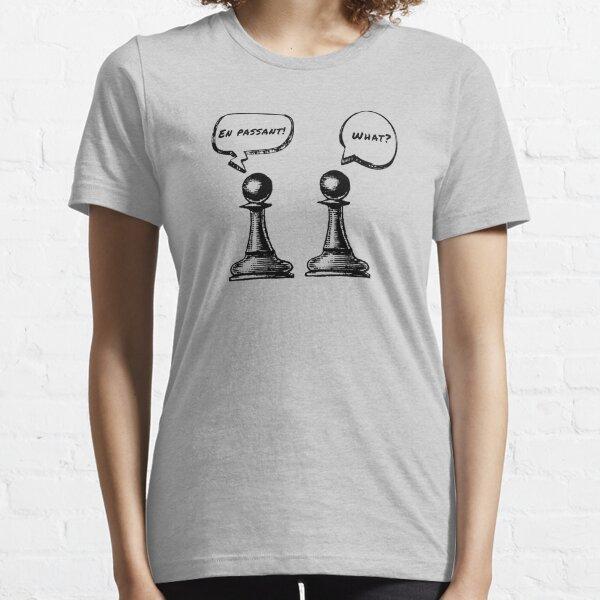 Chess Pawns - En Passant!  What? Essential T-Shirt