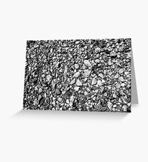 Long Island Sound Beach Pebbles Greeting Card